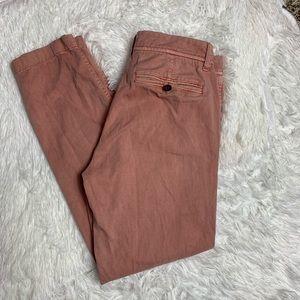 J. Crew Factory Blush Pants Size 00